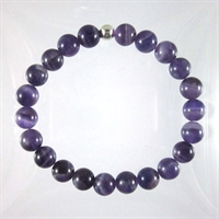 Dogtooth Amethyst 8mm Classic Elastic Bracelet