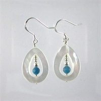 Apatite Faceted Cimona Earrings