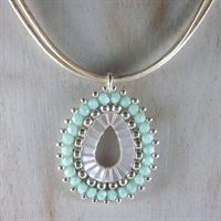 Mint Analia Pendant Necklace